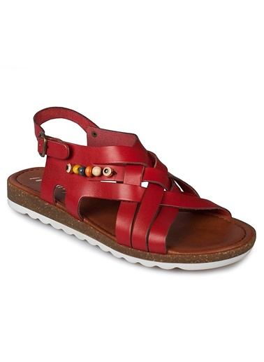 Hakiki Deri Sandalet Matraş